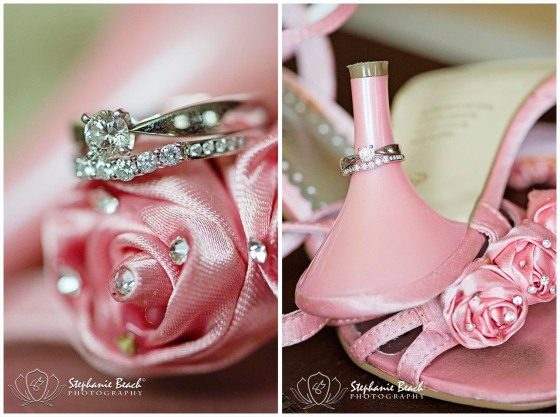 Wedding Macro Photography Rings Shoes