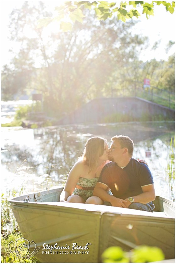 Engagement Session on Lake