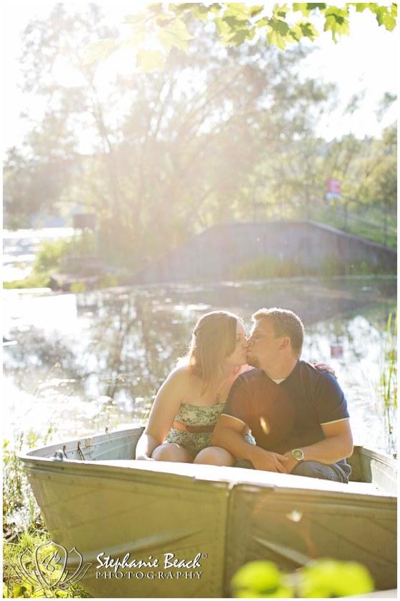Engagement Session on Lake