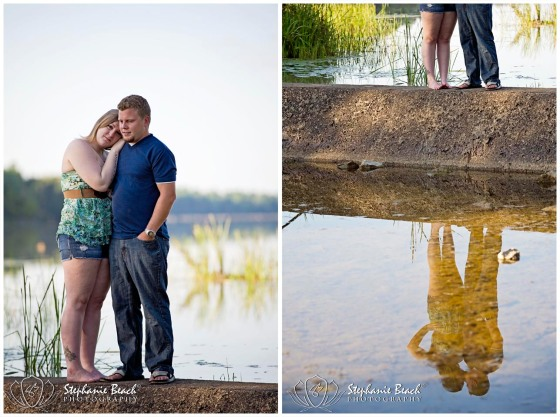 Engagement Session at Lake
