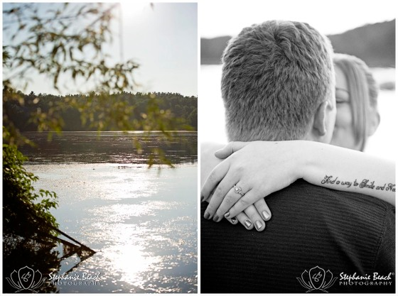 Lake Engagement Photography