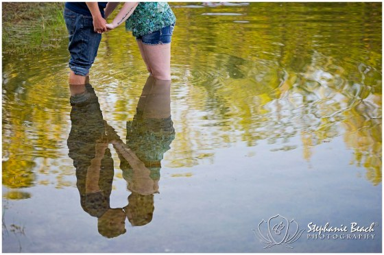 Engagement Photography in Pond