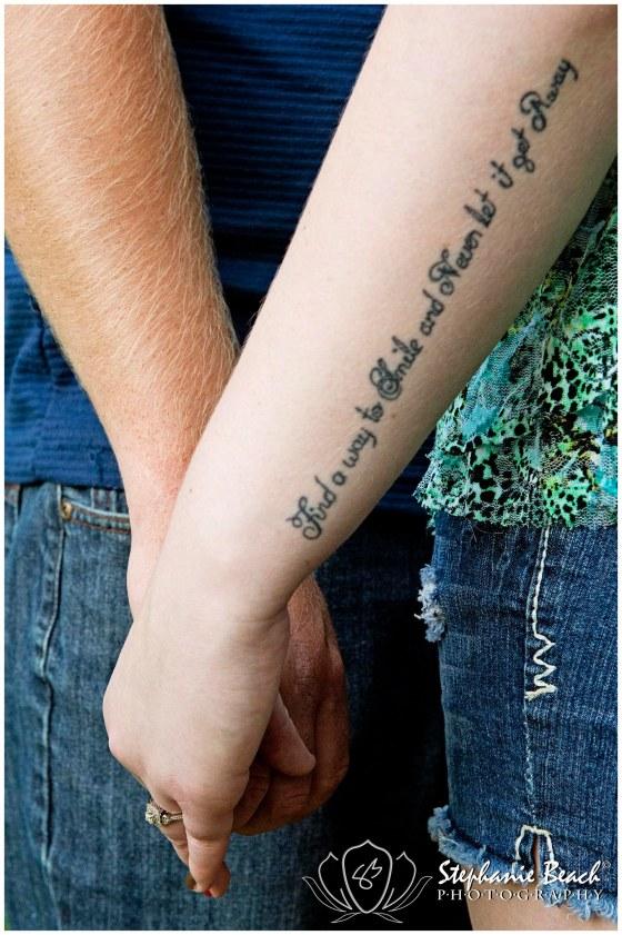 Tattoo Engagement Photography
