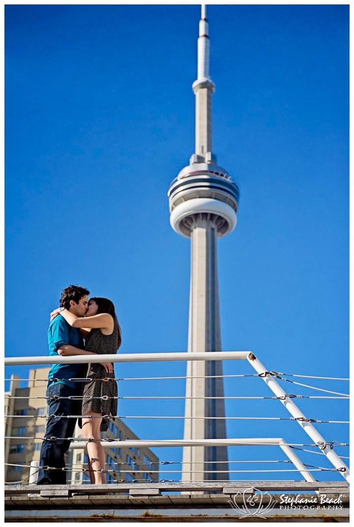 Toronto Harbourfront Engagement Session CN Tower