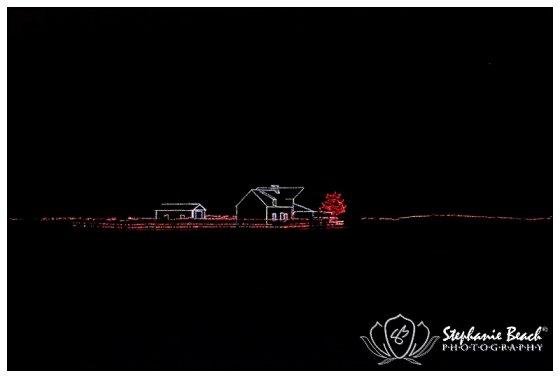 Upper Canada Village Alight at Night