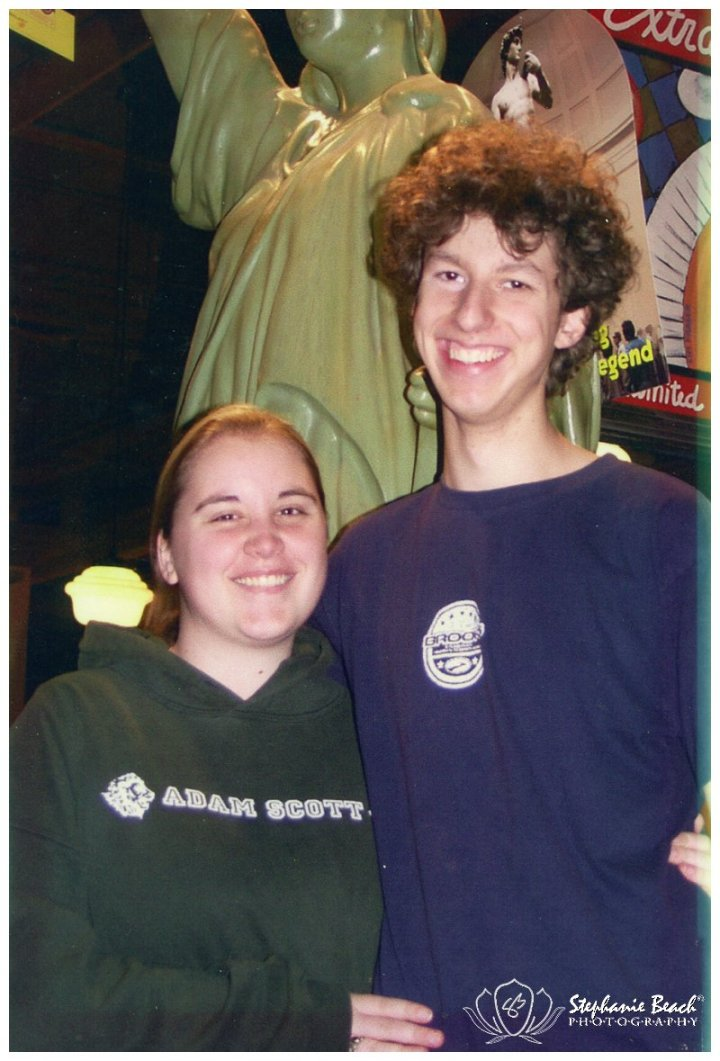 Steph and Dave 2004