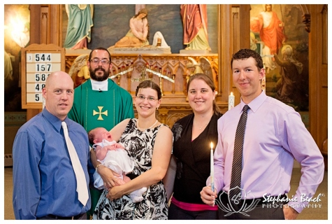 Prescott Baptism Stephanie Beach Photography