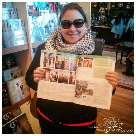 Stephanie Beach Photography at the Magazine Stand Ottawa Wedding Magazine SpringSummer 2015