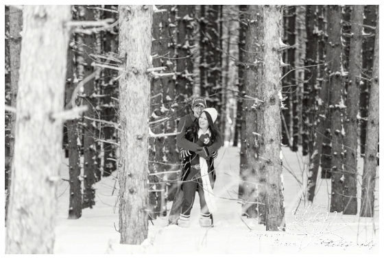 Lunenberg Winter Engagement Session Stephanie Beach Photography