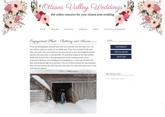 Ottawa Valley Weddings Stephanie Beach Photography