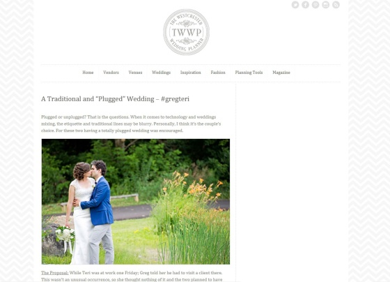 Westchester Wedding Planner Blog