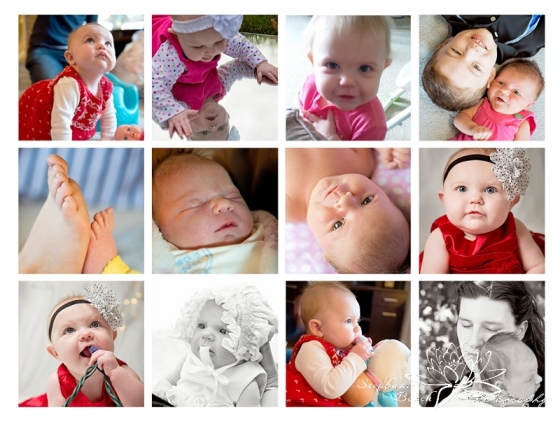 Birthday Collage - Evelyn 1 - Stephanie Beach Photography