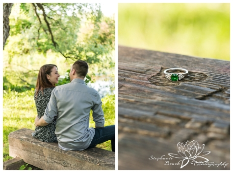Ottawa Arboretum Engagement Session - L+M Stephanie Beach Photography
