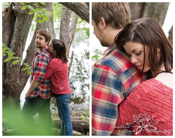 Petrie Island Engagement Session Stephanie Beach Photography