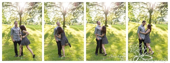 Ottawa Arboretum Engagement Session - L+M Stephanie Beach Photography