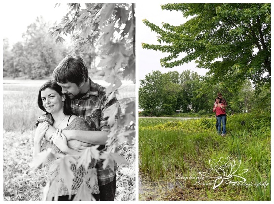 Petrie Island Engagment Session Stephanie Beach Photography