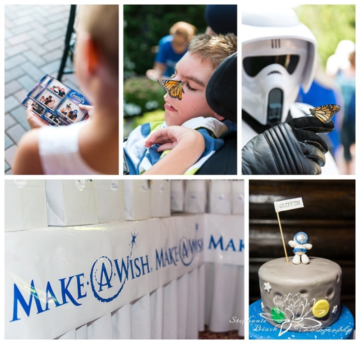 Make-A-Wish Griffins Wish Stephanie Beach Photography
