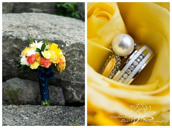 Wall Street Church & Brockville Rowing Club Brockville Wedding Photographer Stephanie Beach Photography