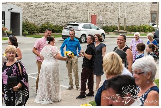 Brockville Wall Street Chruch Wedding Stephanie Beach Photography