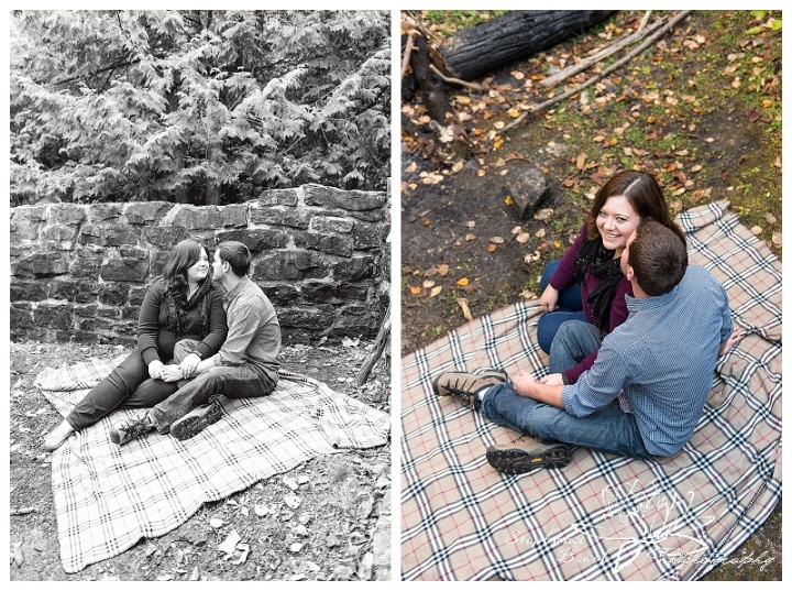 Lime Kiln Trail Engagement Session Stephanie Beach Photography