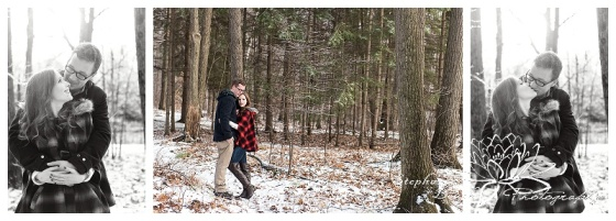Ottawa Winter Engagement Session Stephanie Beach Photography