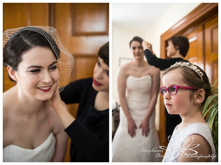 Smiths Falls Winter Wedding Stephanie Beach Photography