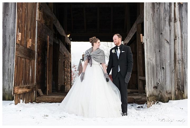 Brockville-Country-Club-Stephanie-Beach-Photography-Winter-Wedding-Farm-Snow-Bride-Groom