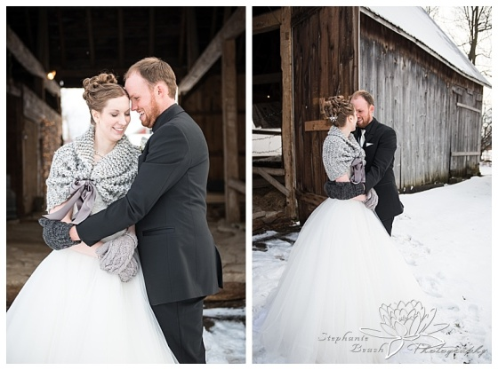 Brockville-Country-Club-Wedding-Stephanie-Beach-Photography-Winter