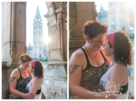 Dowtown Ottawa Same-Sex Engagement Session Stephanie Beach Photography 01