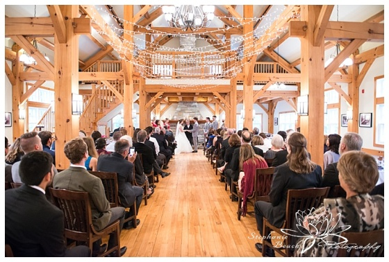 Temples-Sugar-Bush-Wedding-ceremony-indoors-twinkle-lights