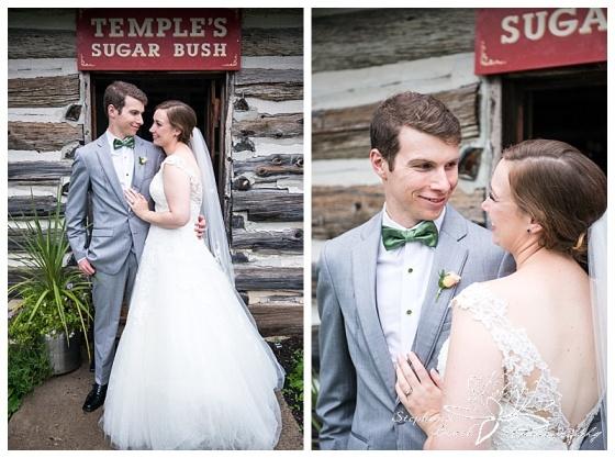 Temples-Sugar-Bush-Wedding-portraits-bride-groom-rain-rainy-day-umbrella-smiles