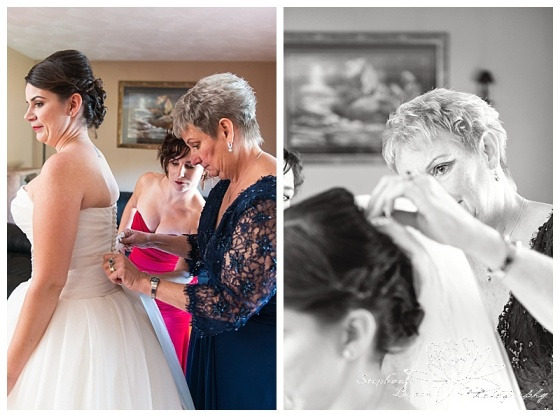 Cornwall-Ramada-Inn-Williamstown-Fairgrounds-Wedding-Stephanie-Beach-Photography-bride-prep-dress