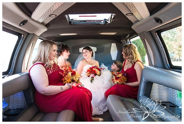 Cornwall-Ramada-Inn-Williamstown-Fairgrounds-Wedding-Stephanie-Beach-Photography-bride-bridesmaids-limo