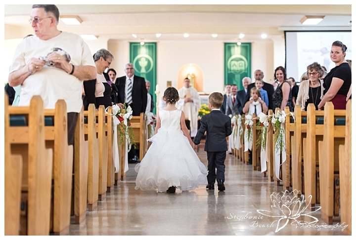 Cornwall-Ramada-Inn-Williamstown-Fairgrounds-Wedding-Stephanie-Beach-Photography-ceremony-flower-girl-ring-bearer