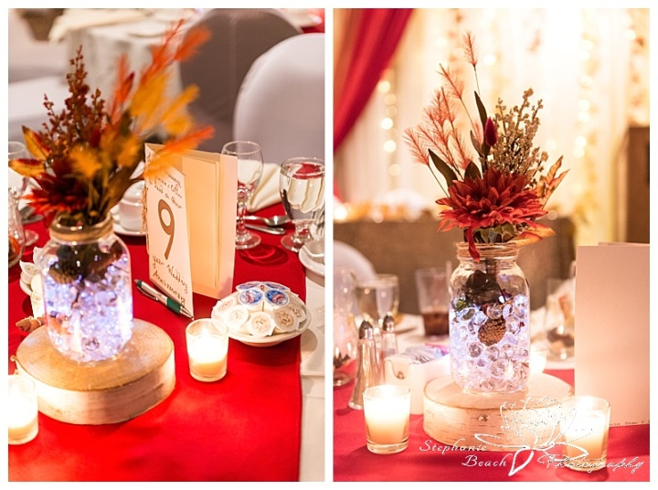 Cornwall-Ramada-Inn-Williamstown-Fairgrounds-Wedding-Stephanie-Beach-Photography-reception-centrepiece-centerpiece