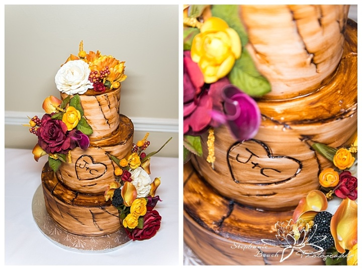 Cornwall-Ramada-Inn-Williamstown-Fairgrounds-Wedding-Stephanie-Beach-Photography-reception-cake