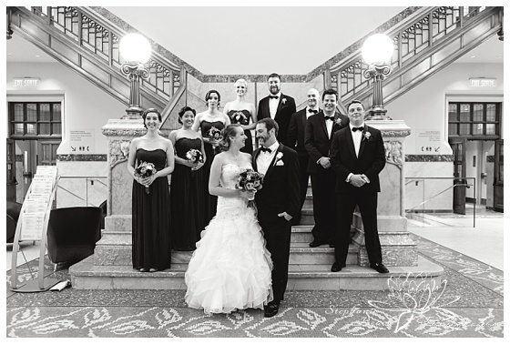 museum-of-nature-ottawa-wedding-stephanie-beach-photography-bridesmaids-groomsmen-bride-groom