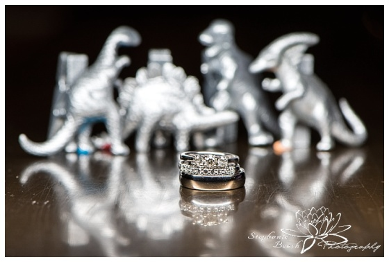 museum-of-nature-ottawa-wedding-stephanie-beach-photography-reception-rotunda-ring-shot-macro-dinosaur
