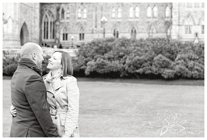parliament-hill-engagement-session-Stephanie-Beach-Photography-Peace-Tower-trees-bushes
