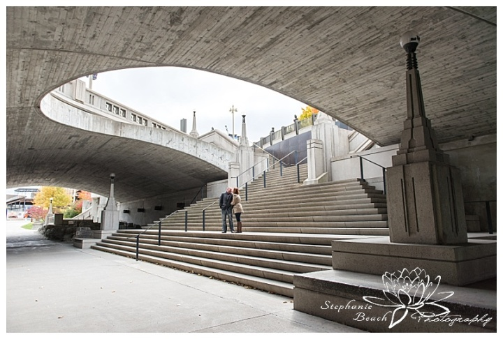 parliament-hill-engagement-session-Stephanie-Beach-Photography-bridge-rideau-street-stairs