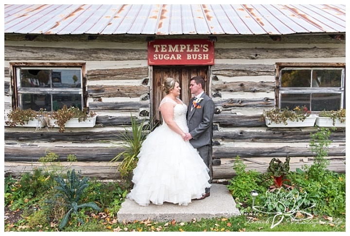 temple's-sugar-bush-fall-wedding-stephanie-beach-photography-bride-groom-portrait