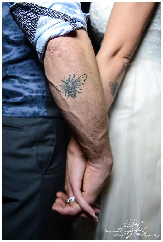 temples-sugar-bush-fall-wedding-stephanie-beach-photography-bride-groom-tattoo