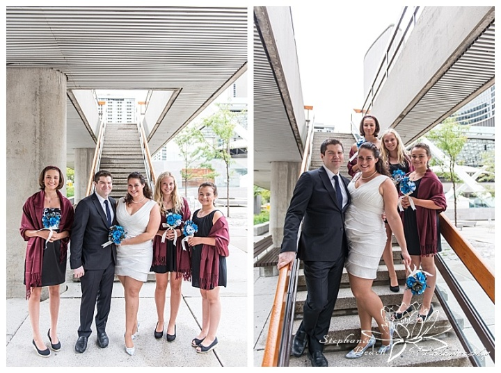 Toronto-City-Hall-Wedding-Stephanie-Beach-Photography-bride-groom-bridesmaids