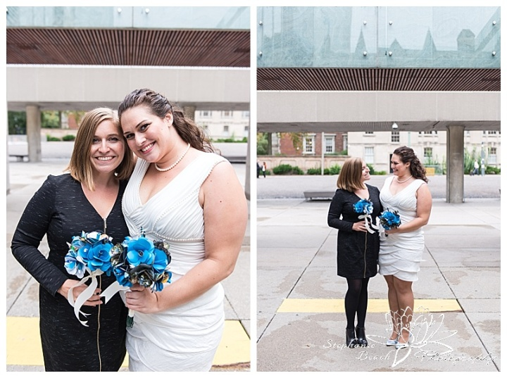 Toronto-City-Hall-Wedding-Stephanie-Beach-Photography-bride-bridesmaid