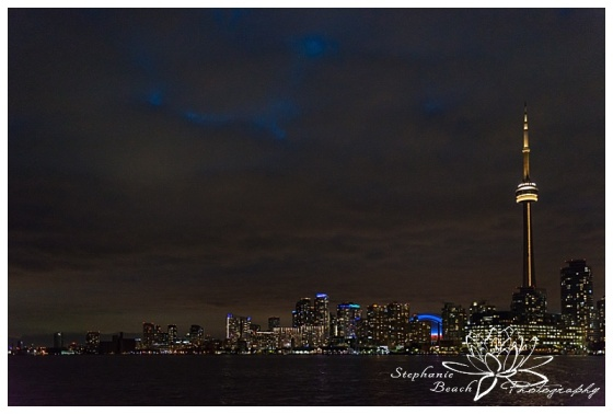 Toronto-Island-Wedding-Stephanie-Beach-Photography-skyline-night-ferry
