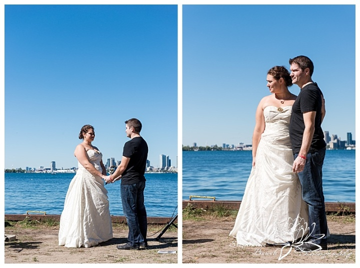 Toronto-Island-Wedding-Stephanie-Beach-Photography-bride-groom-skyline