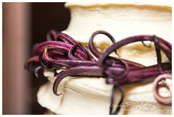 orange-art-gallery-wedding-stephanie-beach-photography-reception-cake