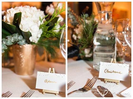 orange-art-gallery-wedding-stephanie-beach-photography-reception-decor-easel-floral-blumen