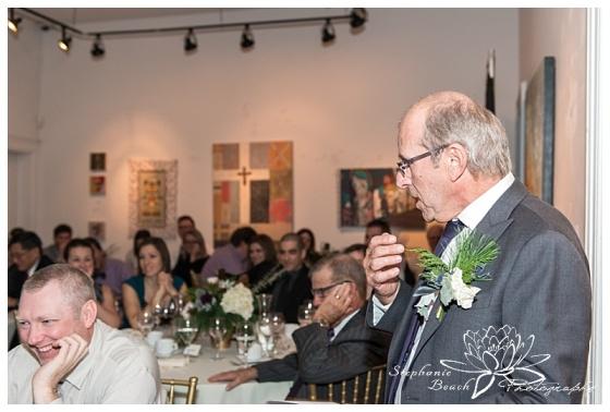 orange-art-gallery-wedding-stephanie-beach-photography-reception-speech