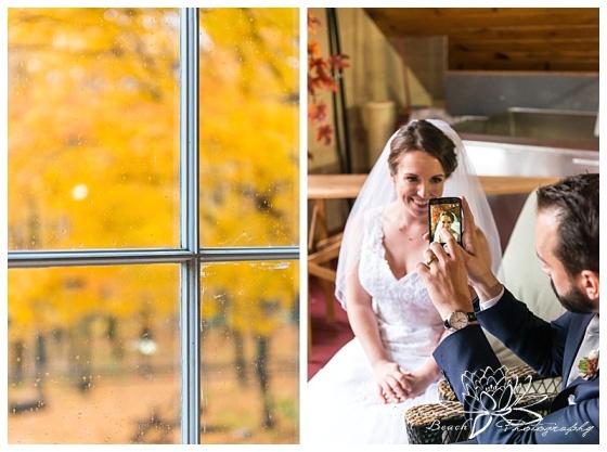 temples-sugar-bush-wedding-stephanie-beach-photography-portraits-bride-groom-fall-leaves-selfie